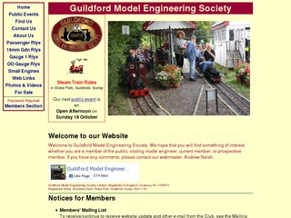 Guildford-Model-Engineering-Society