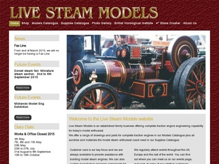 live-steam-models