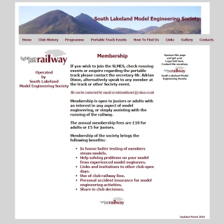 South-lakeland-model-engineering-society