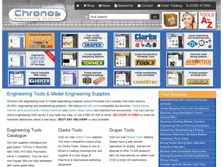 Chronos Engineering Tools & Model Engineering Supplies