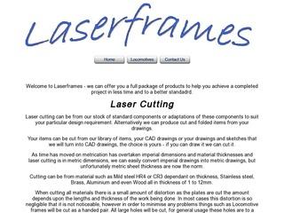 Laser Frames