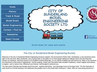 City of Sunderland Model Engineering Society Ltd