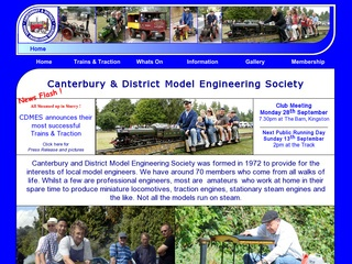 Canterbury and District Model Engineering Society