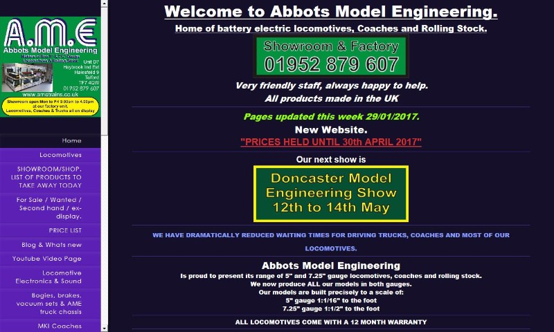 Abbots Model Engineering