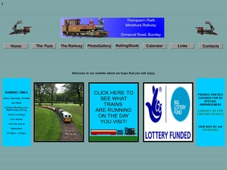 BURNLEY & PENDLE MINIATURE RAILWAY SOCIETY