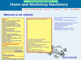 Home and Workshop Machinery