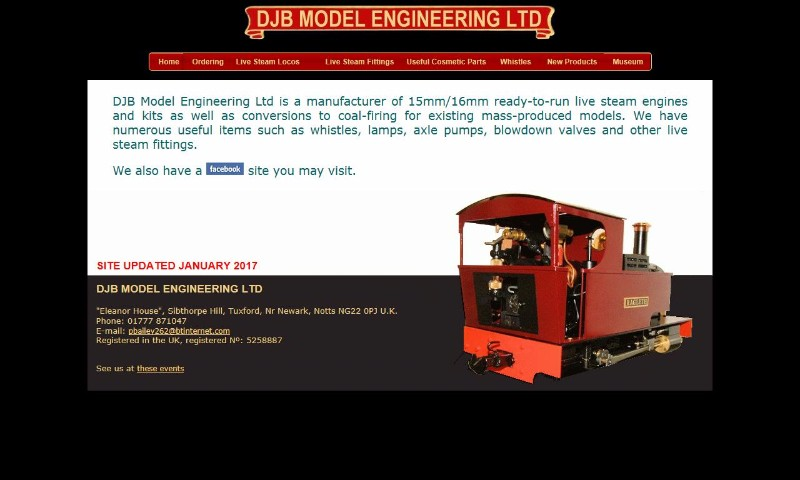 DJB Model Engineering Ltd