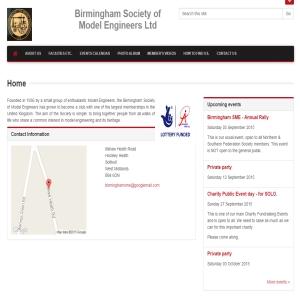 Birmingham Society of Model Engineers Ltd