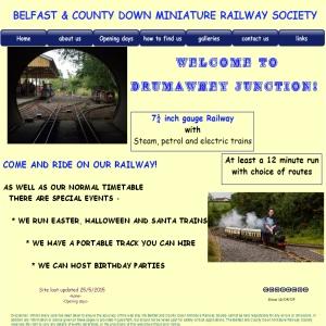 BELFAST & COUNTY DOWN MINIATURE RAILWAY SOCIETY